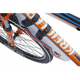Red Cycling Products ClipOn Downtube Mudguard Skvettskjerm Transparent